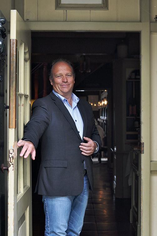 Ruud Keinemans welcome entrance