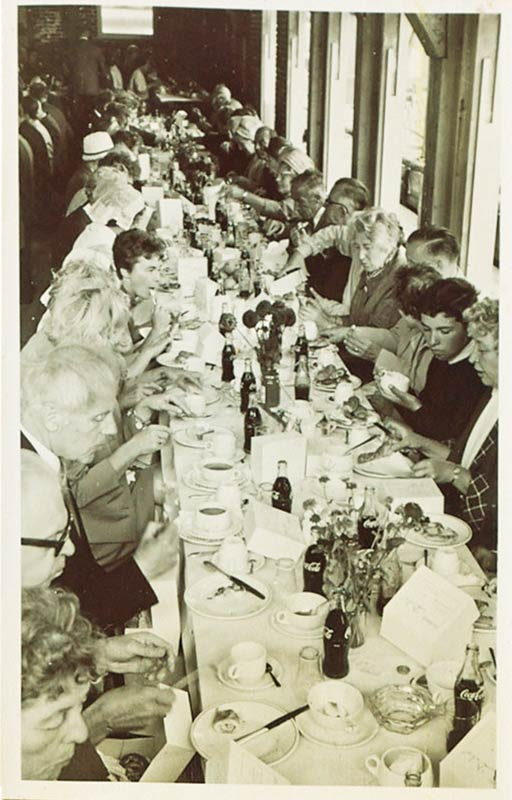 first lunch 1965